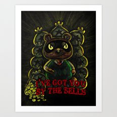 I've Got You By the Bells Art Print