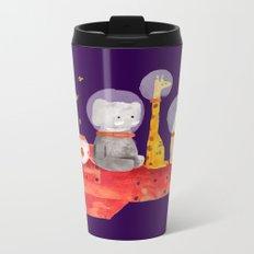 Let's All Go To Mars Metal Travel Mug