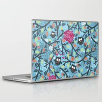 owls Laptop & iPad Skins featuring Owls. by panova