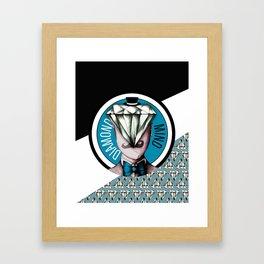 Diamond Mind Framed Art Print