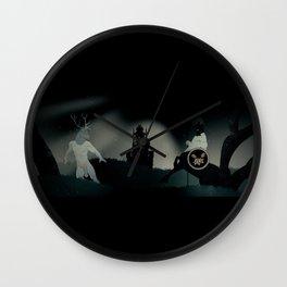 The Surrealist Wall Clock