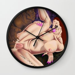 Ms. Divine Wall Clock