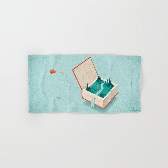 Flying Hand & Bath Towel