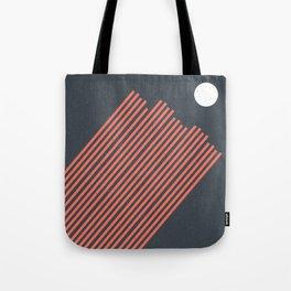 Moon Rays Tote Bag