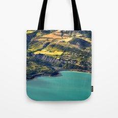 Painted Shore Tote Bag