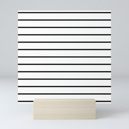 Minimalist Stripes Mini Art Print
