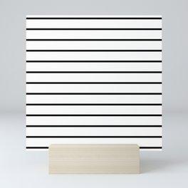 Minimalist Stripes Mini Art Print