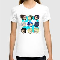 dmmd T-shirts featuring DMMD- chibis by prpldragon