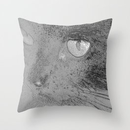 Mowsers! Throw Pillow