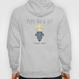 Fight Like a Girl 28 - Cassie Cage Hoody