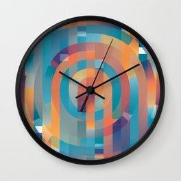 Summer Gradients Wall Clock