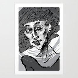 Debbie Art Print