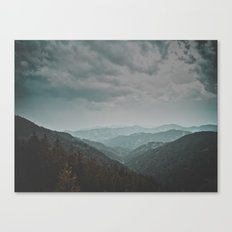 Wander forever my love (nature) Canvas Print