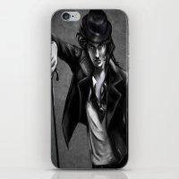 charlie chaplin iPhone & iPod Skins featuring Charlie Chaplin by Monashka