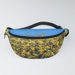 Cat's Claw Vine Over Fence Fanny Pack