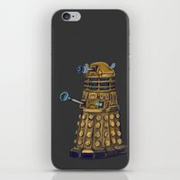 dalek iPhone & iPod Skins featuring Dalek  by Fernando Licon