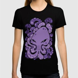 Octopus Squid Kraken Cthulhu Sea Creature - Ultra Violet T-shirt