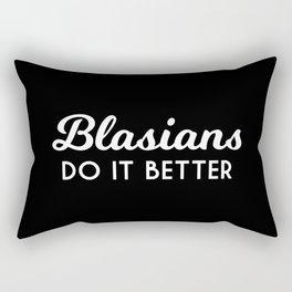 Blasians do it better Rectangular Pillow