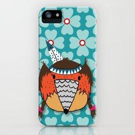 Lotte Pamelo Klee cyan iPhone Case