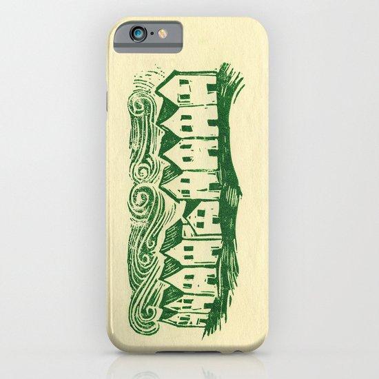Sad Row iPhone & iPod Case