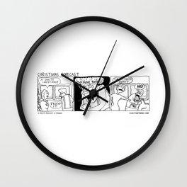 Christmas Forecast Wall Clock