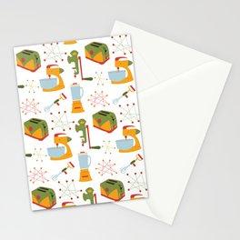 Retro Kitchen - Orange and Green Stationery Cards