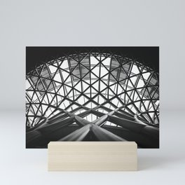 London Kings Cross Mini Art Print