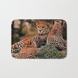 AnimalMix Cheetah 010 Bath Mat