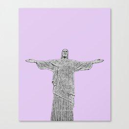 Christ Redeemer Rio de Janeiro - Art Canvas Print