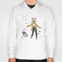 taurus Hoodies featuring Taurus by LordofMasks
