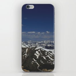 From the Top of the Rockies iPhone Skin