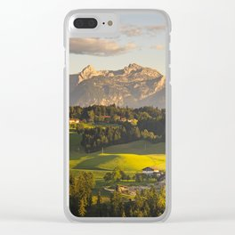 evening walk Clear iPhone Case