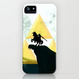 The Horse Of Triforce iPhone Case