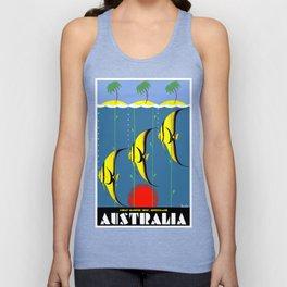 Australia Great Barrier Reef Queensland Unisex Tank Top
