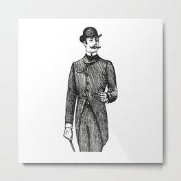 Gentleman Metal Print