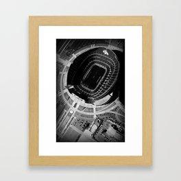 Broncos Stadium by Air Framed Art Print