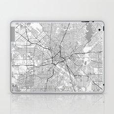 Dallas Map Line Laptop & iPad Skin