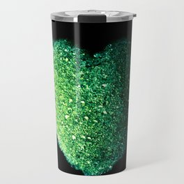precious green heart Travel Mug