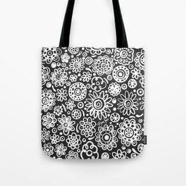 of flowers and planets Tote Bag