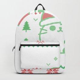Meowy Christmas Backpack
