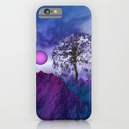landscape in nowhereland -100- iPhone Case