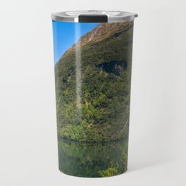 Beautiful Reflections at Lake Gunn, NZ Travel Mug
