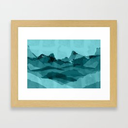 Mountain X 0.1 Framed Art Print
