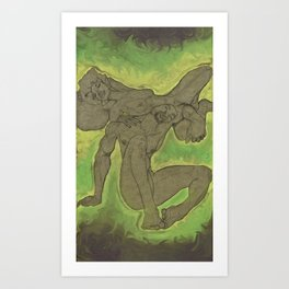 Tantricity Art Print