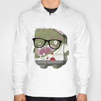 zombie Hoodies featuring Zombie by Silver Larrosa