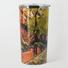 Autumn in Brooklyn Travel Mug