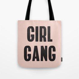 Girl Gang Feminist Art Tote Bag