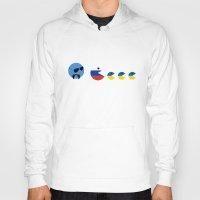 ukraine Hoodies featuring United Nations Russia and Ukraine by mailboxdisco