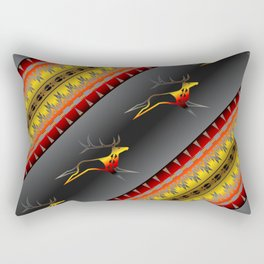 Elk Spirit (BRYB) Rectangular Pillow