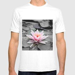 Pink Lotus Flower Waterlily T-shirt